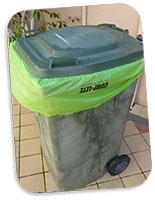 Bolsas para contenedor de basura